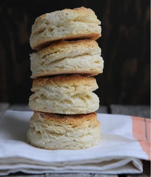 Homemade flaky biscuits recipe
